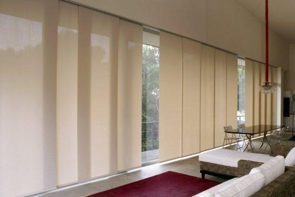 Consigue una estética lineal y minimalista con el panel japonés
