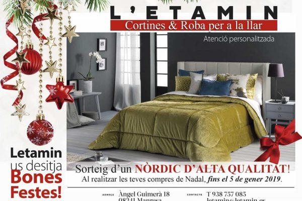 Estas fechas comprar en L'Etamin trae regalo.